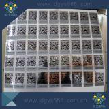 De Duidelijke Sticker van de Stamper van de Tekst van de douane