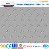 304 placa de acero decorativa Checkered grabada 316 colores