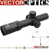 Espaço ótico do rifle 1-8X 26mm Riflescope 1-8X26 Ffp de Artemis 1-8 do fornecedor do OEM China com primeiro vermelho do plano focal & Vtc-1 o Reticle iluminado visão noturna 35mm