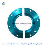 Usinage en aluminium / métal non standard Pièces CNC Plaque ronde pour moto