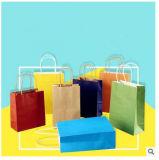 Горячий продавая рециркулированный роскошью Washable мешок Kraft бумажный