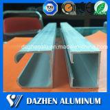 Perfil de alumínio de alumínio do trilho da trilha do Sell da fábrica 6063 T5 com oxidação