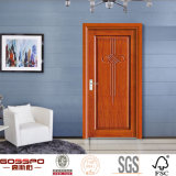 Hotelzimmer-fertiger Lack-Vorderseite-Eintrag-hölzerne Tür (GSP8-024)