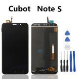 CubotのノートSの電話修理部品のためのLCD表示が付いている接触パネル