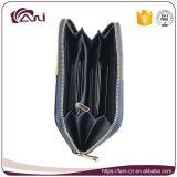 Бумажник женщин PU самой последней застежки -молнии конструкции кожаный с портмонем монетки