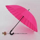 guarda-chuva 24k reto durável aberto automático (YS-S009G)