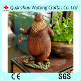 Figurines all'ingrosso animali dell'orso della resina della decorazione domestica americana creativa