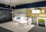 Doppia base della parete del sofà con un sofà delle tre sedi