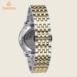 Relojes mecánicos automáticos Gold-Tone 72477 del acero inoxidable de la manera de los hombres