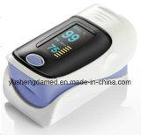 Hoog Verklaard Ce kwalificeerde Impuls Oximeter van de Vingertop van de Machine van het Ziekenhuis de Handbediende