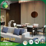Jogo de quarto moderno da mobília do hotel do Teak do estilo de India (ZSTF-19)