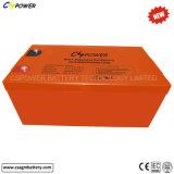 12V 300ah Maintanenceの自由な太陽ゲル電池