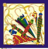 écharpe de soie de 90*90cm 100% pour la femme