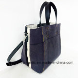 Hete Ontwerper Trendy Dame Canvas Tote Handbags (nmdk-052207)