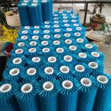 Balai industriel de rouleau de nettoyage de balai de rouleau de machine de polonais de cire de fruit d'Apple