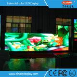 Alta pared video de interior del rendimiento P3 LED para el fondo de la exposición