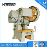 J23 aluminio Potencia Máquina de la prensa / Acero inclinación hidráulica Prensa