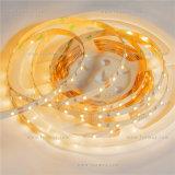 Il LED flessibile 3528SMD scalda l'indicatore luminoso di striscia bianco di 3000K 12VDC LED