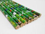 Lápiz redondo rotatorio de la escuela del lápiz de la pintura del lápiz del estudiante del lápiz