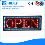 Hidly Viereck das geöffnete Zeichen USA-LED