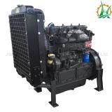 Uno mismo del motor diesel que prepara la bomba de agua montada acoplado centrífugo