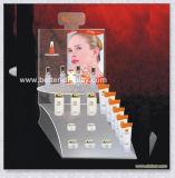 Produit de beauté acrylique 3 - présentoirs d'étage de rangée Btr-B3022