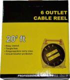 6 tomacorrientes conectados a tierra con cable de 20 pies