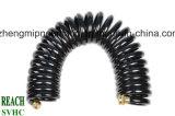 De spiraalvormige Slang van de Lucht van het Polyurethaan Pu met Montage (8*12mm)