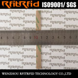 Tag RFID évident de bourreur sans contact de long terme de fréquence ultra-haute pour le livre de bibliothèque