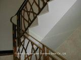 Высокомарочный поручень лестницы нержавеющей стали строительного материала 304