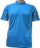 Mann-Polyester Sumblimation Polo-Hemd