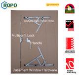 Двойная панель вне окна Casement PVC отверстия французского