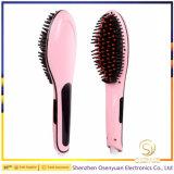 Nuova spazzola elettrica sviluppata del raddrizzatore dei capelli dell'affissione a cristalli liquidi del migliore regalo 2016