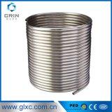 Pipe de spirale d'acier inoxydable de tube du serpentin de refroidissement 304 d'acier inoxydable