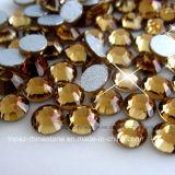 도매 수정같은 Lized 포일 뒤 모조 다이아몬드 느슨한 모조 다이아몬드 (FB ss16 topaz/3A)
