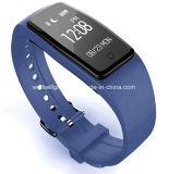 IP67 de waterdichte Dynamische Slimme Armband van de Herinnering van Bluetooth van de Stap van het Scherm van de Aanraking van de Slaap van de Controle van het Tarief van het Hart Wearable voor Androïde voor Androïde Ios