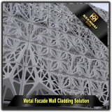 Dekorative vorfabrizierte außenpanel-Aluminiumumhüllung-Blätter