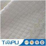 Premier tissu tricoté visqueux de vente de jacquard pour le matelas