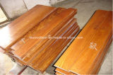 Suelo asiático natural de la madera dura de la teca