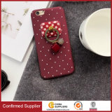 Polka DOT Design PC Hard Shell Back Cover com Kickstand