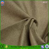 Tela tejida materia textil casera de la cortina del apagón de la capa de Waterprof franco de la tela del poliester