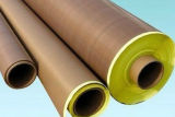 Ruban adhésif de fibre de verre enduite du teflon PTFE