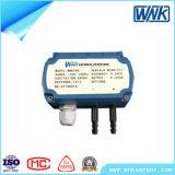 Micro transdutor de pressão diferencial com 4-20mA saída, escala de 0-7500PA