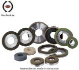 Resina-Bond rueda de diamante en seco de molienda (capa de trabajo con vertedero)