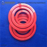 Roter überlegener langlebiges Gut PU-Verbindungsstück-Scheuerschutz
