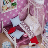 Levering voor doorverkoop met Licht en Doos van de Zaal van het Huis van Doll van het Meubilair de Miniatuur