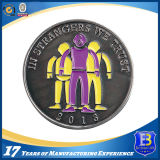 レーザーの彫版のロゴ(Ele-C057)の柔らかいエナメルの昇進の硬貨