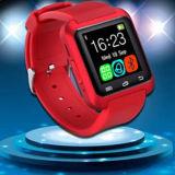 Montre multifonctionnelle de sport de Bluetooth de la montre U8 intelligente avec la bande de montre de silicones