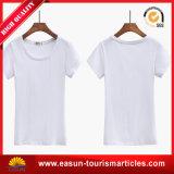 Camiseta llana del algodón con diversos colores