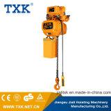 Matériel de levage de Txk treuil à chaînes électrique de 2 tonnes avec le crochet